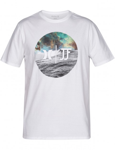 Hurley JJF Nebula Short Sleeve T-Shirt in White