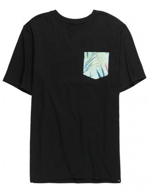Hurley JJF Plot Maps Short Sleeve T-Shirt in Black