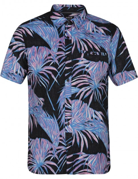 Hurley Koko Short Sleeve Shirt in Black