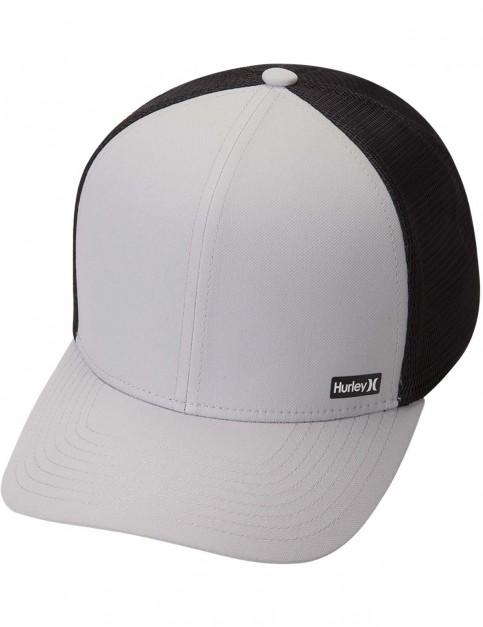 Hurley League Cap in Cool Grey/Black