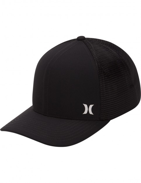 Hurley Milner Trucker Cap in Black