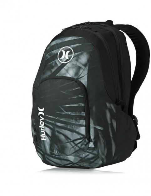 Black C Hurley Mission 4.0 Backpack