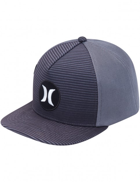 Hurley Motion Stripe Cap in Black