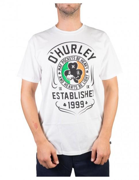 White Hurley O'Hurley Short Sleeve T-Shirt