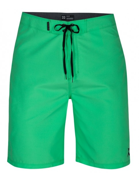 Hurley One & Only 2.0 21' Mid Length Boardshorts in Electro Green