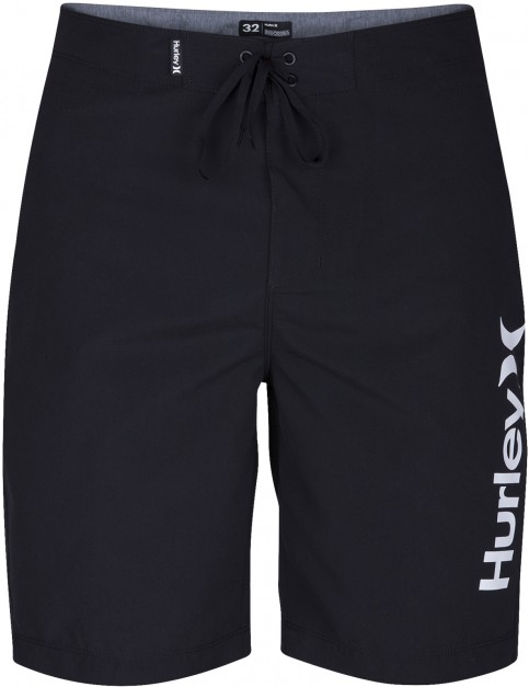 Hurley One & Only 2.0 Mid Length Boardshorts in Black
