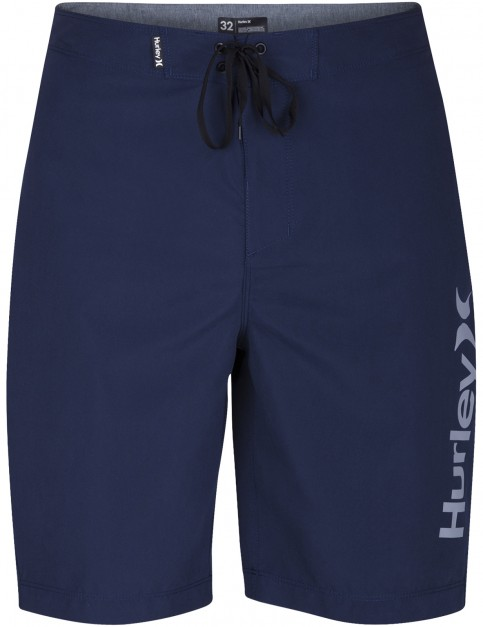 Hurley One & Only 2.0 Mid Length Boardshorts in Obsidian