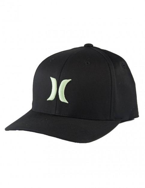 Enamel Green Hurley One & Only Black White Cap