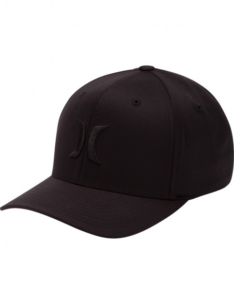 Hurley One & Only Cap in Black/Black