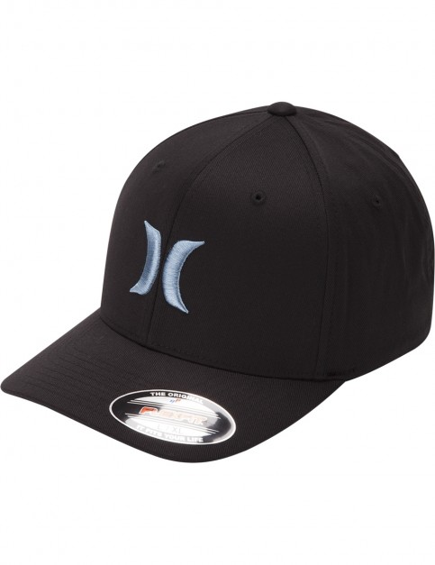 Hurley One & Only Cap in Black/Noise Aqua
