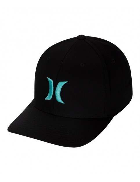 Hurley One & Only Cap in Black/Tropical Twist