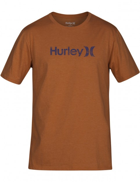 Hurley One & Only Push-Through Short Sleeve T-Shirt in Monarch Heather