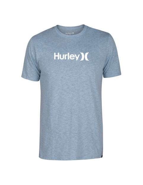 Hurley One & Only Solid Short Sleeve T-Shirt in Noise Aqua