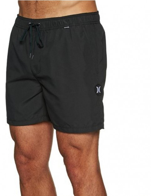 Hurley One & Only Volley 16 Short Boardshorts in Black
