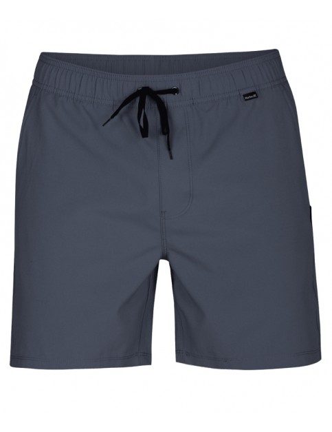 Hurley One & Only Volley 17' Elasticated Boardshorts in Cool Grey