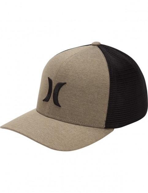 Hurley One & Textures Trucker Cap in Buff Gold