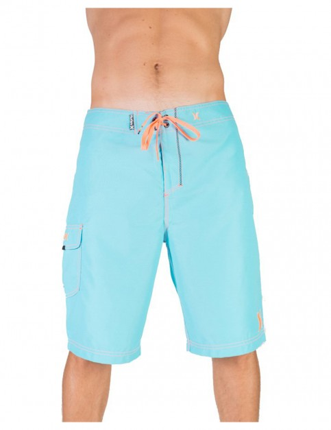 Beta Blue Hurley One And Only 22 Mid Length Board Shorts