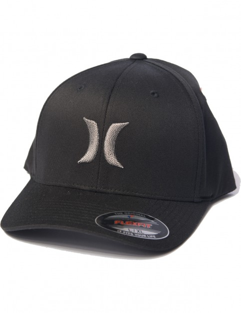 Hurley One And Only Black And White Cap in Cool Grey