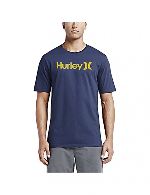 Obsidian Hurley One And Only Dri Fit Short Sleeve T-Shirt