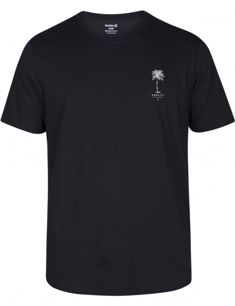 Hurley Palmskull Droptail Short Sleeve T-Shirt in Black