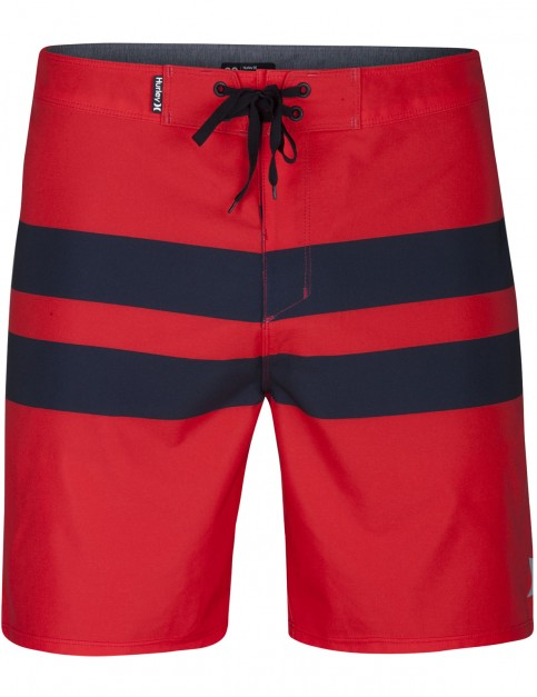 Hurley Phantom Blackball Technical Boardshorts in Track Red
