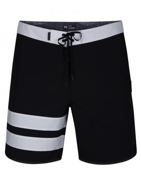 Hurley Phantom Block Party Solid 18' Technical Boardshorts in Black