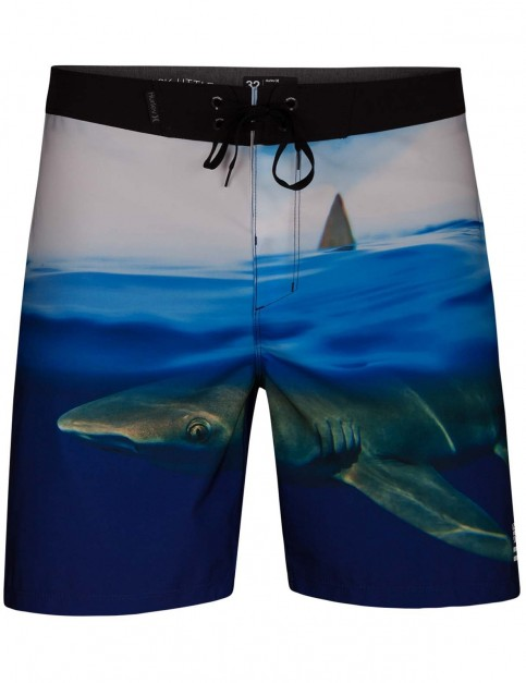 Hurley Phantom Clark Week 18 inch Mid Length Boardshorts in Photo Blue