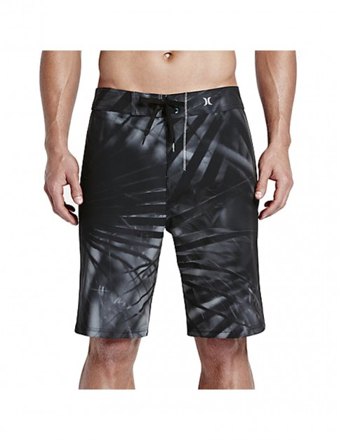 Hurley Phantom JJF II Mid Length Board Shorts in Black