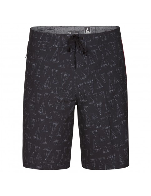 Hurley Phantom JJF IV Maritime 20'' Mid Length Boardshorts in Black