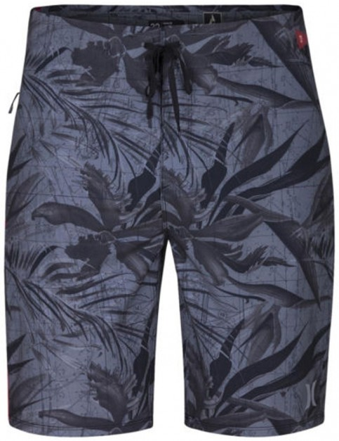 Hurley Phantom JJF Maps Technical Boardshorts in Black