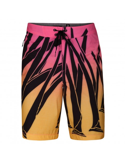 Hurley Phantom Julian Wilson Snapper 18'' Mid Length Boardshorts in Hyper Pink