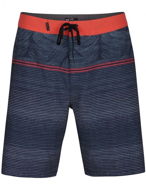 Hurley Phantom Sunset 20inch Mid Length Boardshorts in Obsidian
