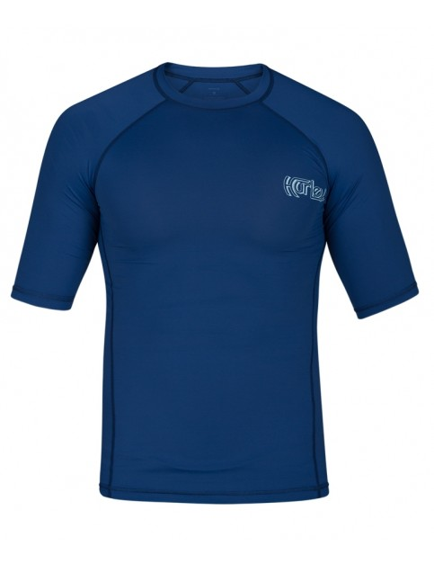 Hurley Pro Light OG Short Sleeve Rash Vest in Blue Force