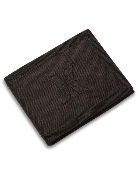 Hurley Renegade Solid Polyester Wallet in Black