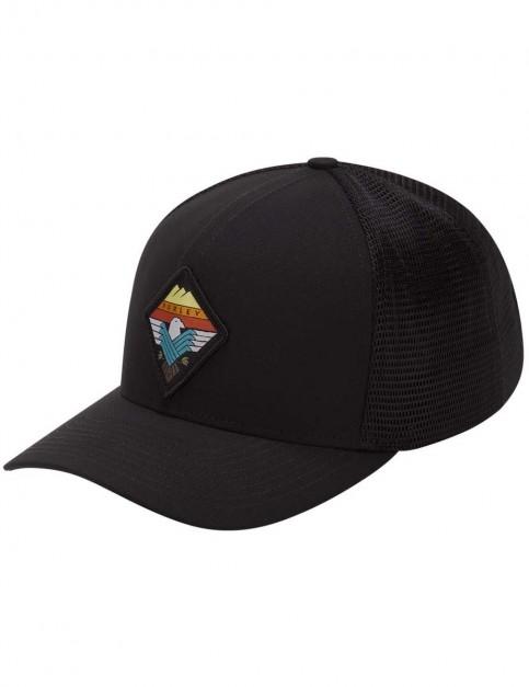 Hurley Surfin Bird Trucker Cap in Black