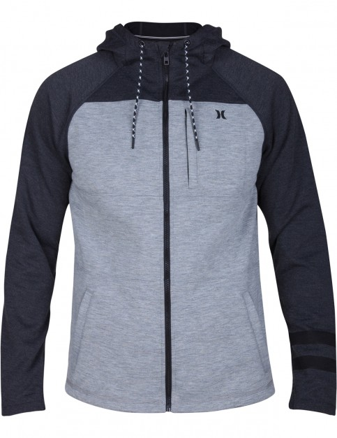 Hurley Therma Protect Plus Full Zip Fleece in Dark Grey Heather