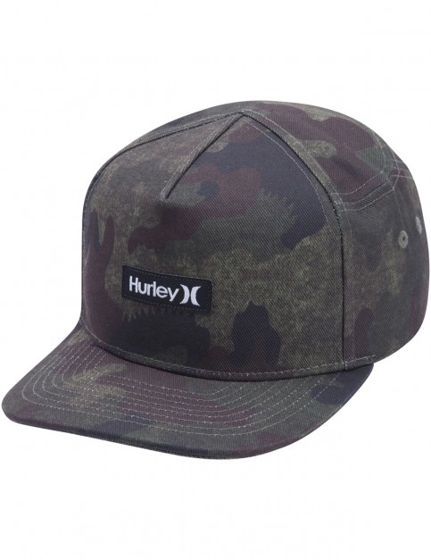 Hurley Tiger Tracks Cap in Cargo Khaki
