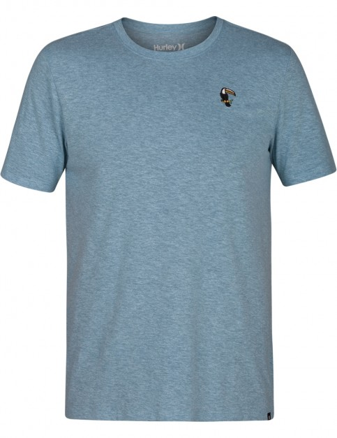 Hurley Toucan Tri-Blend Short Sleeve T-Shirt in Noise Aqua