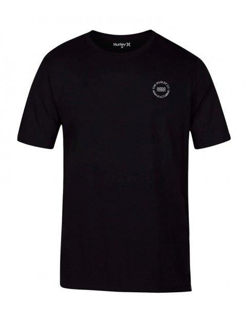 Hurley Viral Short Sleeve T-Shirt in Black