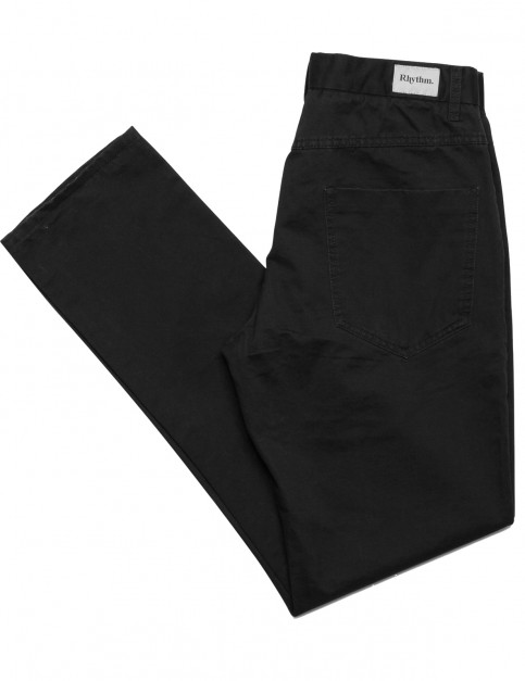 Rhythm Jean Pant Trousers in Black