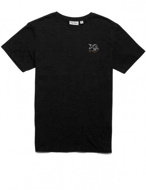 Rhythm Conflict Short Sleeve T-Shirt in Black