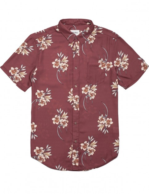 Rhythm Cantina Short Sleeve Shirt in Clay