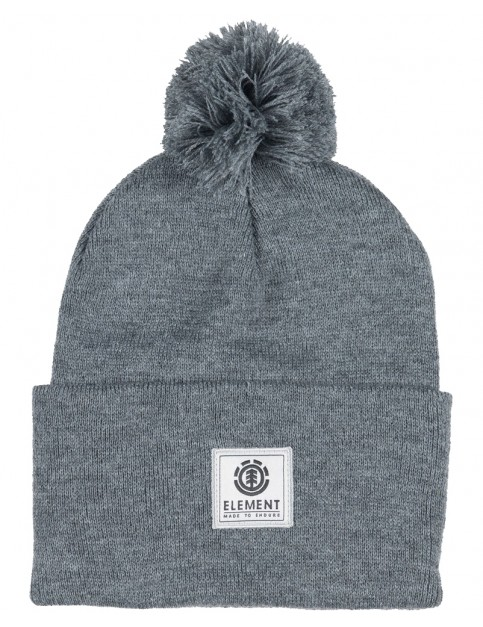Element Dusk Pom II Beanie in Grey Heather