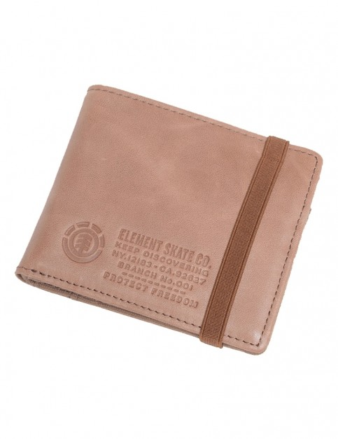 Element Endure L. II Wallet Leather Wallet in Natural