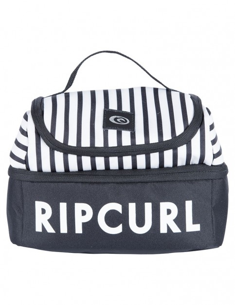 Rip Curl Double Up Mixed Lunchin B Cool Bag in Black