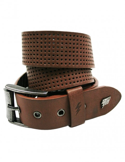 Lowlife Clyde Leather Belt in Brown
