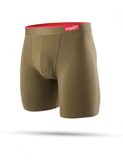 Olive Stance Brixton X Stance Underwear