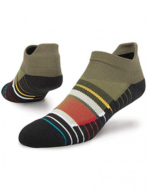 Stance Sidelines Tab No Show Socks in Multi