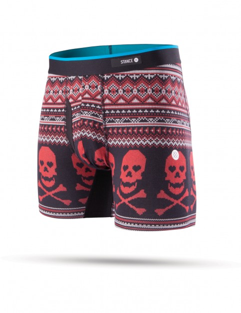Stance Valentine Bones Underwear in Red