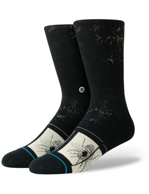 Stance Buzzy Crew Socks in Black